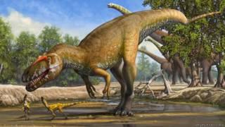 Torvosaurus gurneyi