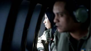 Tripulante de la fuerza aérea malasia