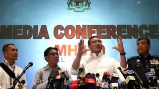 Ministro dos Transportes da Malásia fala sobre desaparecimento de avião | Crédito: Reuters