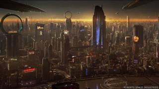Ciudad del juego Star Citizen