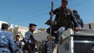 Des soldats de  l'armée yéménite