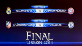 Abazokina ica kabiri ca Champions League 2014