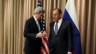 John Kerry na Sergei Lavrov