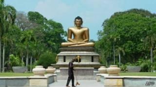 Patung Buddha di Sri Lanka, AFP
