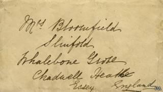 Carta escrita en el Titanic