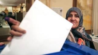 Voto en Irak