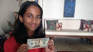 Laila Indira Alva, la niña que le escribió al Banco central indio