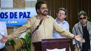 Representantes de las FARC