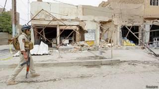 Autos bomba en Irak