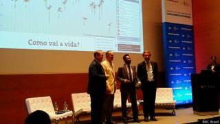 Evento da OCDE com Aldo Rebelo e Pelé (BBC Brasil)