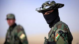guardia de seguridad iraquí