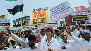Musulmanes protestan