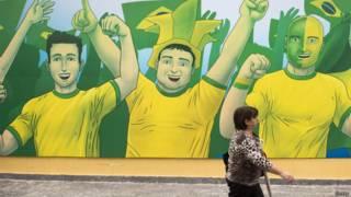 Mural in Brazil