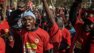 Grevistes sud-africains