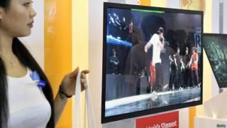 Nueva televisión de Samsung