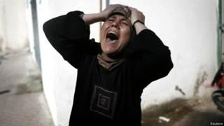 गज़ा में मारे गए चार बच्चों में से एक की माँ