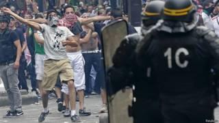 Manifestantes propalestinos se enfrentan a la policía en París