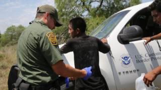 Patrulla fronteriza en Texas