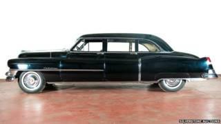 El Cadillac utilizado por Evita como auto oficial.