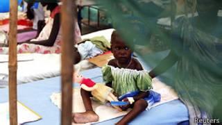 Niña en Sudán del Sur