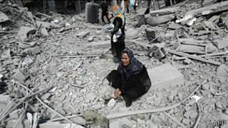 Escena en Gaza
