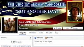 Página en Facebook de la familia Tahmooressi.