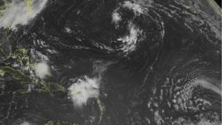 Tormenta tropical Bertha sobre Puerto Rico