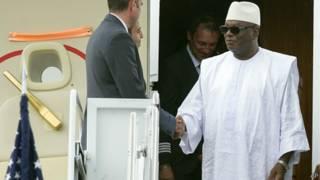 Ibrahim Boubacar Keita, presidente de Mali
