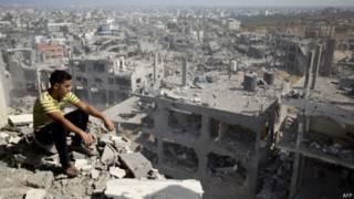 Destruição em Gaza (AFP)