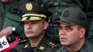 Vladimir Padrino López y Gustavo Moreno Maldonado