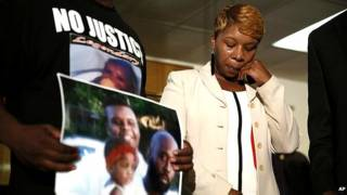 Lesley McSpadden, madre de Michael Brown