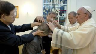 Bautizo del papa
