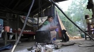 Indígenas de Paraguay