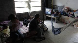 Familia pobre en Brasil