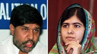 Kailash Satyarthi y Malala Yousafzai