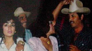 Ismael Zambada García, El Mayo, en una fiesta