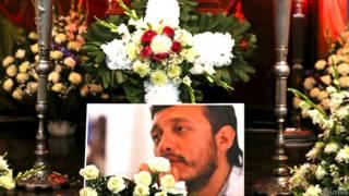 Velatorio del fotoperiodista mexicano asesinado Rubén Espinosa