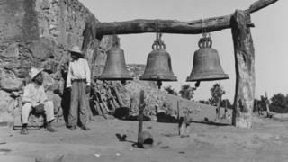 Indígenas Yaquis en una foto de 1945