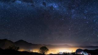 Cielo con estrellas en Chile