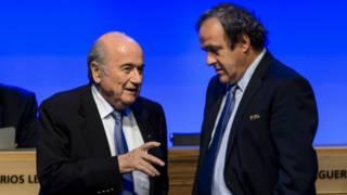 Blatter dan Platini tetap dilarang terlibat sepak bola – BBC Indonesia