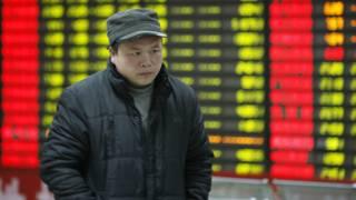 Suspensión de mercado en China