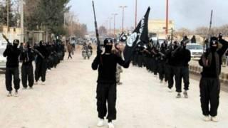 Milicianos de Estado Islámico