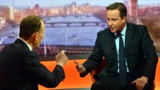 Дэвид Кэмерон в эфире Би-би-си