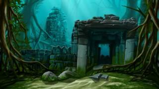 Una ilustración del mito de la Atlántida