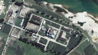 Снимок Йонбена со спутника