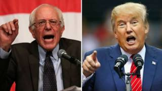 Sanders y Trump