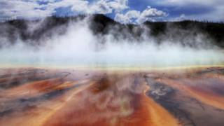Aguas termales en Yellowstone