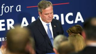 Jeb Bush despedida
