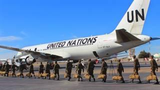 Миротвроцы ООН