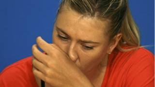La tenista Maria Sharapova anunció que dio positivo por dopaje